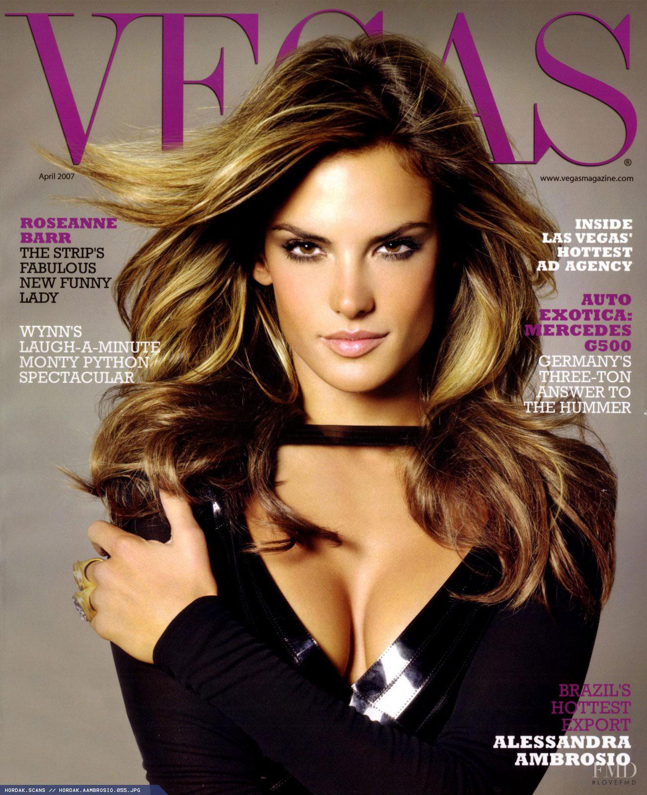 Alessandra Ambrosio American Vegas Magazine