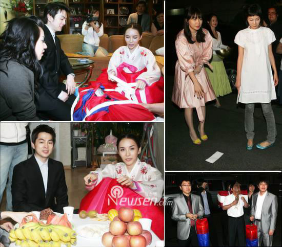 Korean star Harisu married with Micky Jung