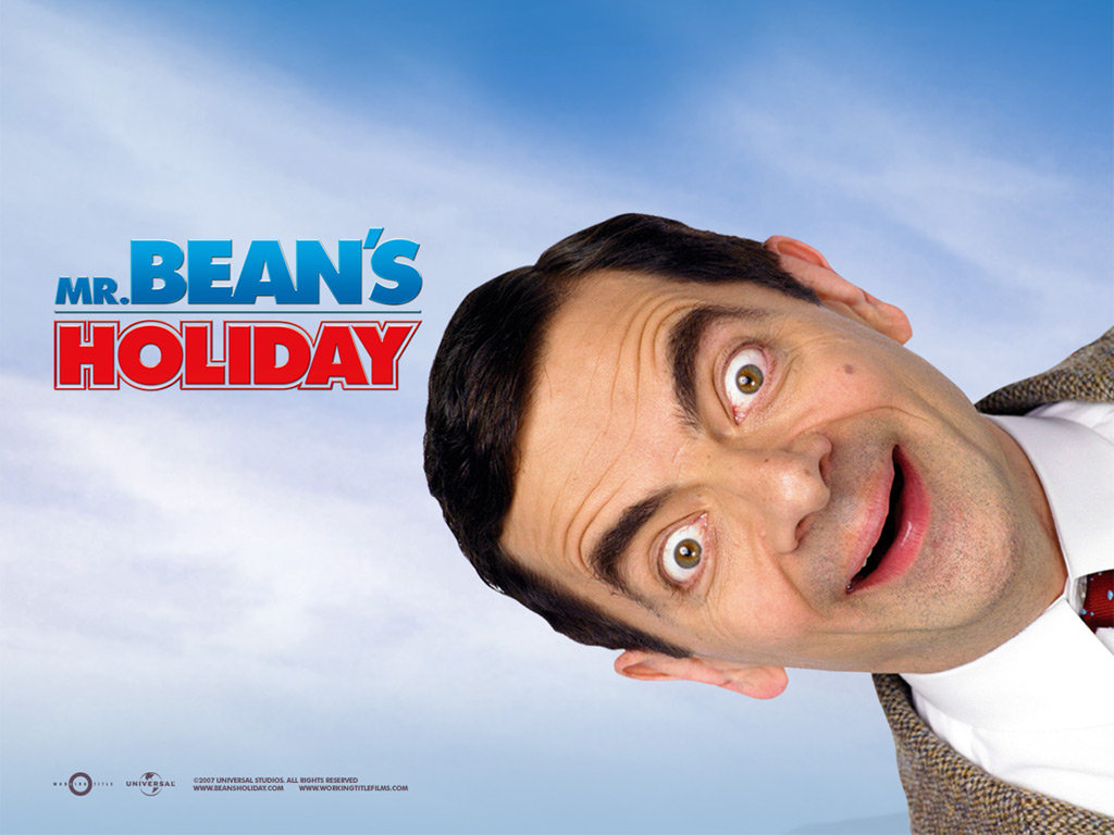 Mr Bean Holiday movie poster 2007