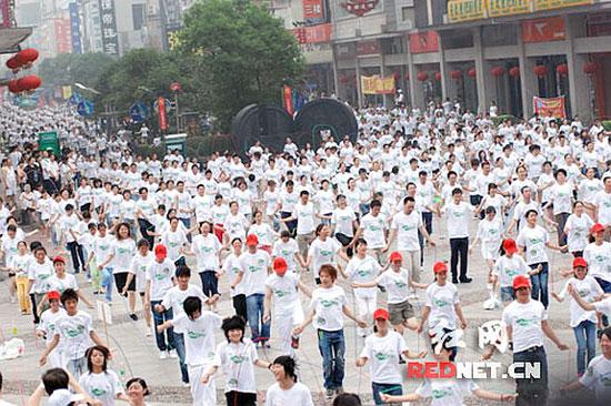 China rope jumping world record