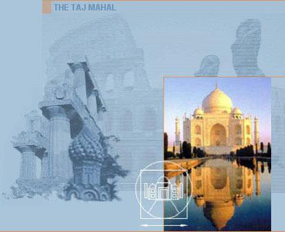 New 7 Wonders - Taj Mahal, India