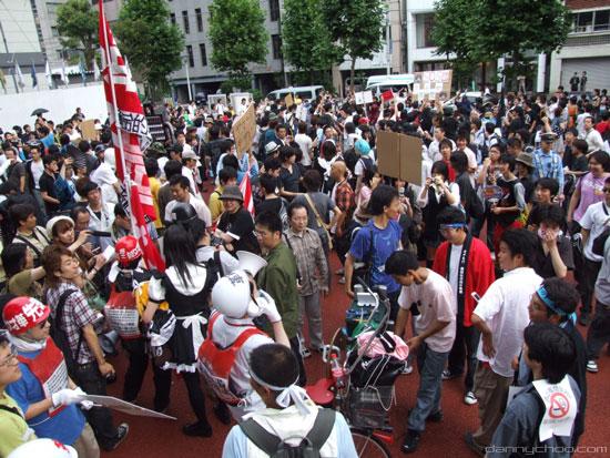 Akihabara Liberation Demo, Tokyo, Japan
