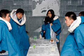 Shanghai ice bar