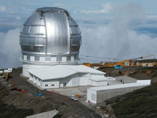 Great Canary world largest telescope