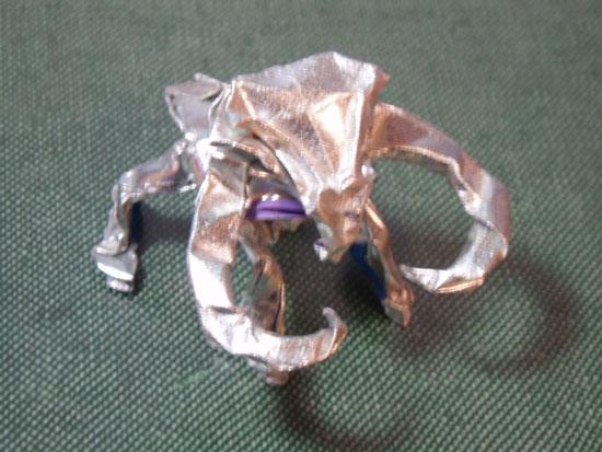 Korean Starcraft origami