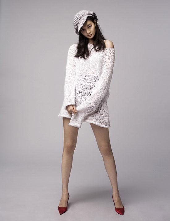 Shin Min-ah on Esquire magazine