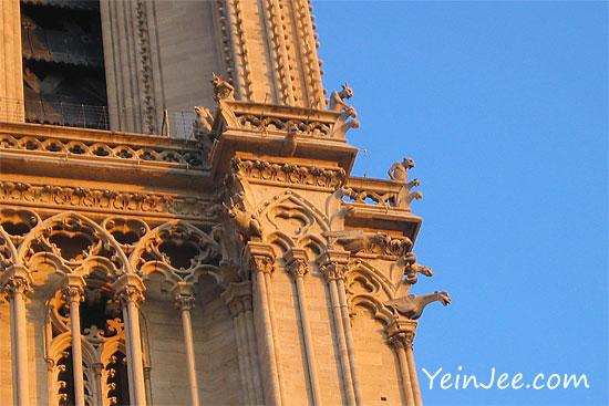 Gargoyles at Notre Dame, Paris