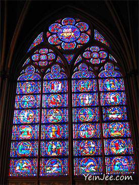 Rose Windows, Notre Dame Cathedral, Paris