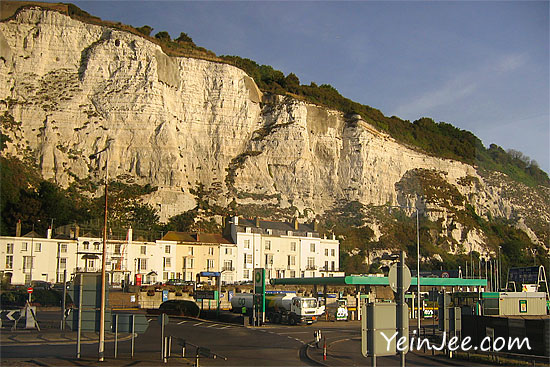 Dover White Cliff, England, UK