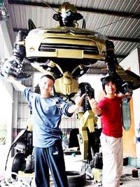 Chinese home made Citroen Transformer