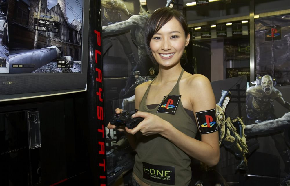 Fala Chen at i-ONE PlayStation 3 promotion event