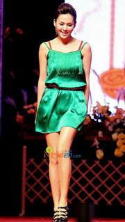 Korean singer Ivy