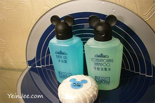 Hong Kong Disney Hollywood Hotel toiletries