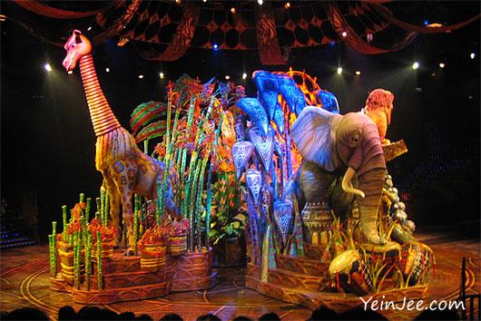 Hong Kong Disneyland Lion King show