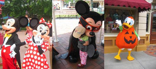 Hong Kong Disneyland cartoon mascot