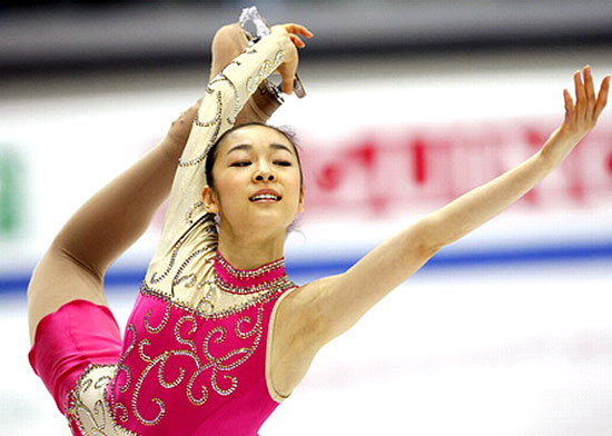 Kim Yu-na at ISU Grand Prix in Turin, Italy