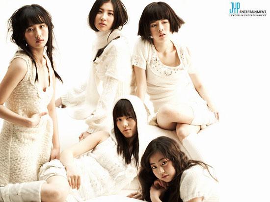 Korean pop group Wonder Girls