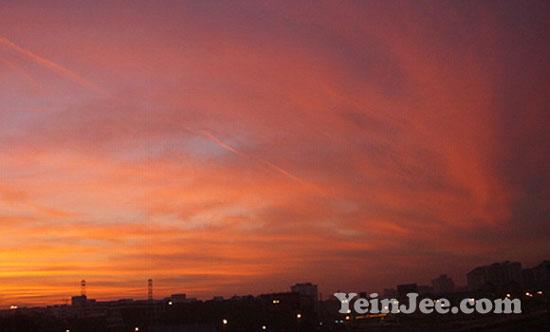 Beautiful morning in Kelana Jaya