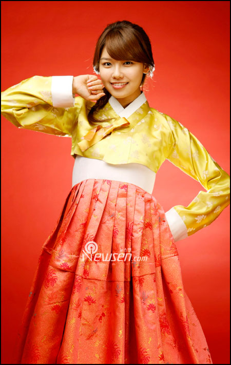 SNSD Sooyoung in Hanbok