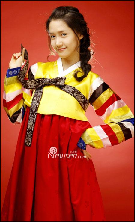 SNSD Yoona in Hanbok