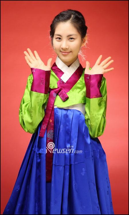 SNSD Seohyun in Hanbok