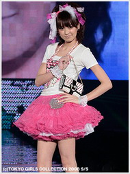 Fashion model at Tokyo Girls Collection 2008