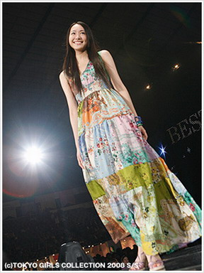 Yui Aragaki at Tokyo Girls Collection 2008