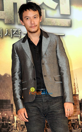 Taiwanese actor Chang Chen at Red Cliff press conference in Seoul, Korea