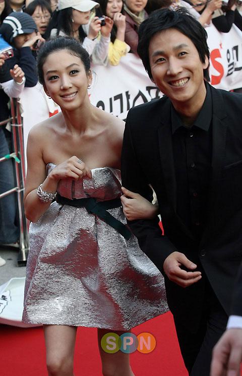 Jung Ryu-won and Lee Sun-kyun 44th Baeksang Arts Award