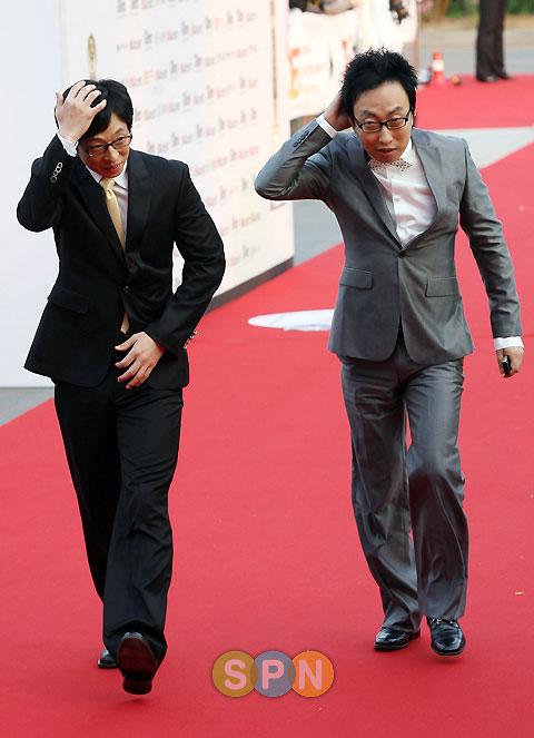 Park Myung-soo and Yoo Jae-suk 44th Baeksang Arts Award