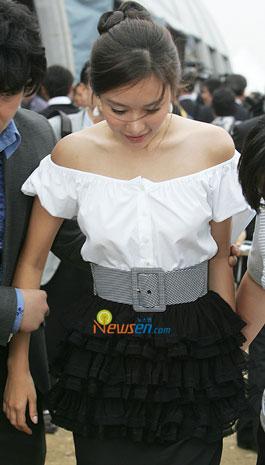 Kim Ah-joong at Hallyuwood start festival