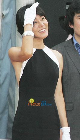 Kim Yun-jin at Hallyuwood start festival