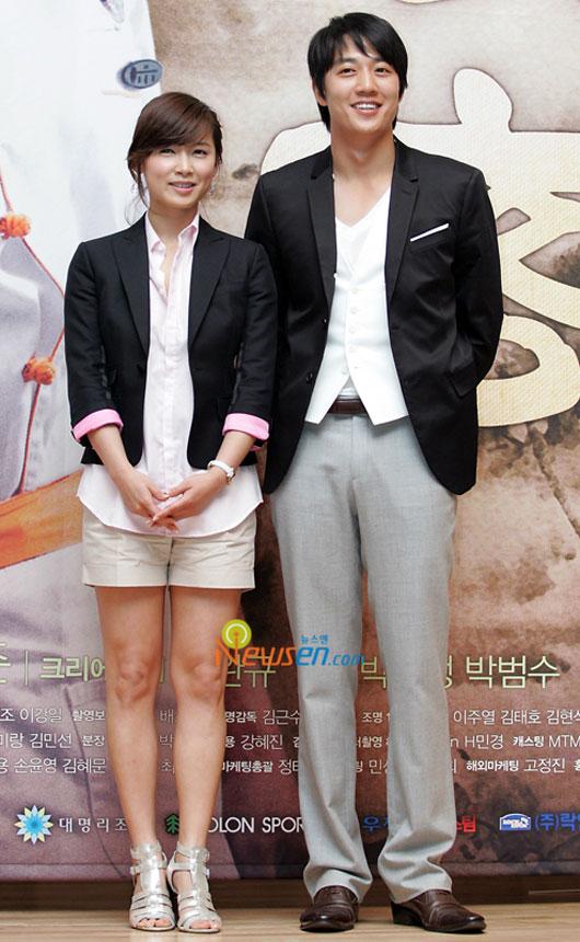 Nam Sang-mi and Kim Rae-won Sikgaek press conference