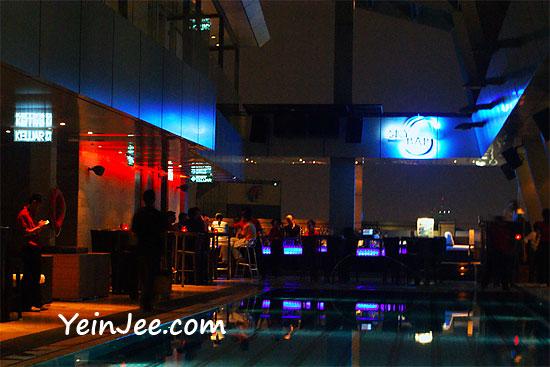 Sky Bar at Traders Hotel in Kuala Lumpur