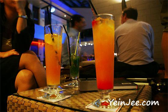 Drinks at Sky Bar in Kuala Lumpur
