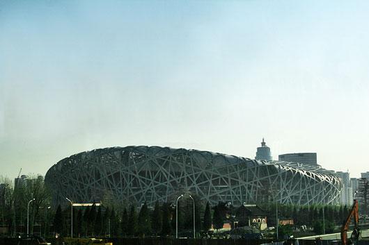 The Beijing National Stadium, China