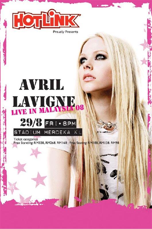 Avril Lavigne Kuala Lumpur Concert