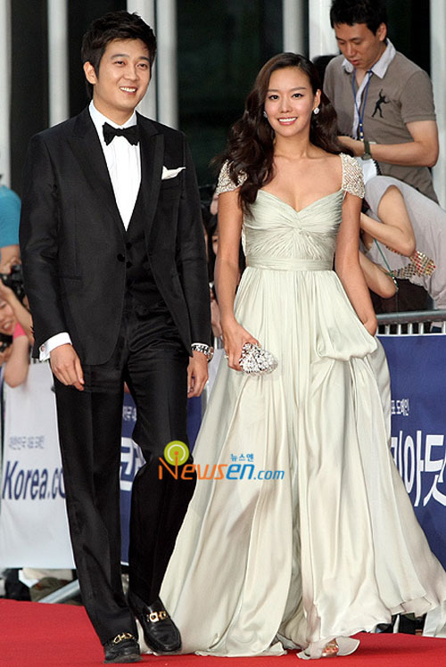 Choi Gi-hwan and Kim Ah-joong Daejong Film Festival 2008