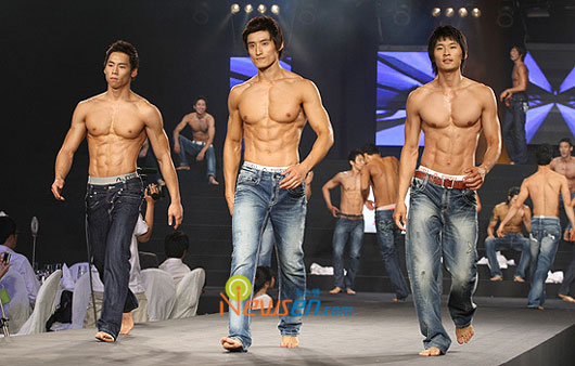 Hunky Korean guys