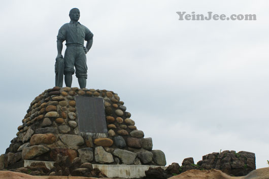 Memorial at Yehliu Geopark, Taiwan