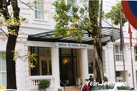 Sofitel Metropole Hotel in Hanoi, Vietnam