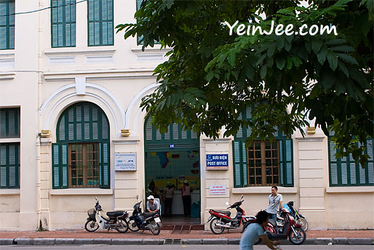 General post office in Hanoi, Vietnam
