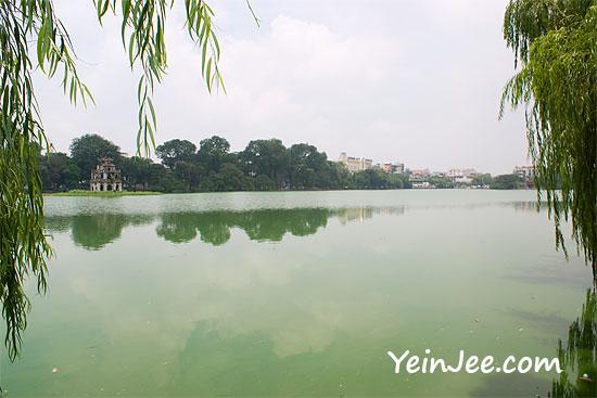 Ho Hoan Kiem in Hanoi, Vietnam