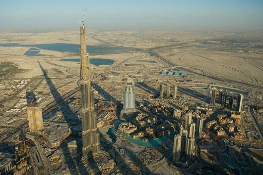 Burj Dubai the world tallest man made structure
