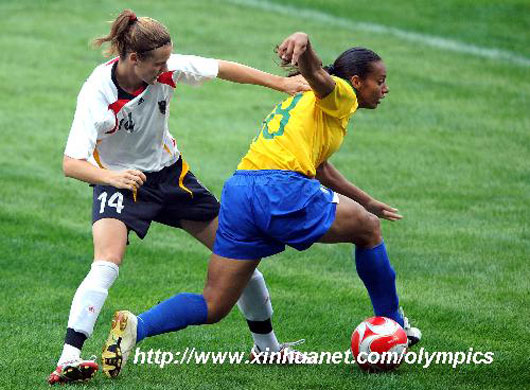 Women soccer games at Beijing 2008 Olympics