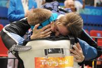 Matthew and Katerina Emmons at Beijing Olympics 2008