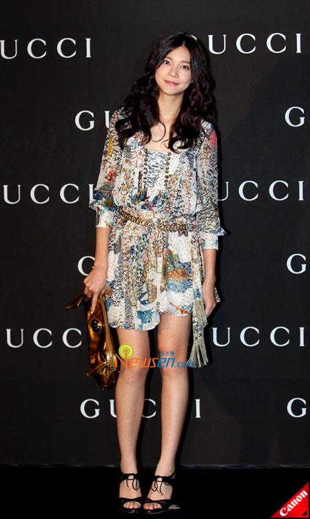 Korean actress Cha Yae-ryun at Gucci 0809 FW Collection in Seoul