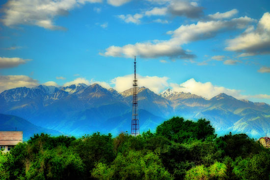 Kok-Tube Mountain, Almaty, Kazakhstan