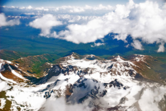 Pamir Mountain, Kazakhstan