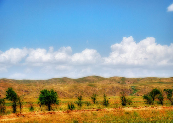 Road to Bishkek